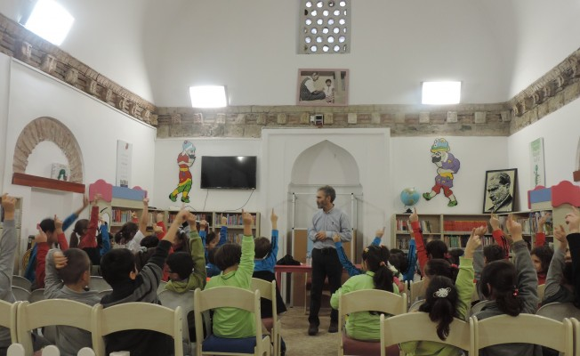 Bursa'da 'Okumak Maceradır' programı
