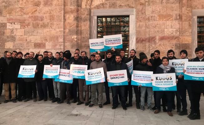 Bursa'dan Amerika'nın Kudüs kararına tepki