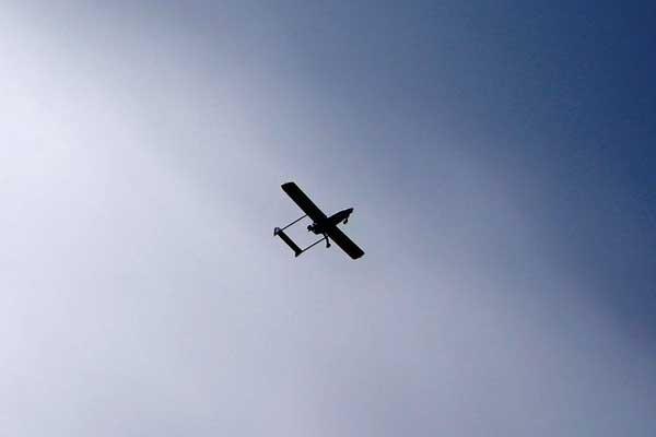 Çin'de insansız hava aracı düşürüldü
