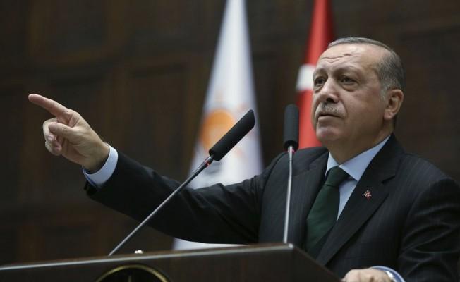 """Cumhurbaşkanı Erdoğan: """"Lozan'ı hemen Ege'ye hasredip işi bitirmeyelim"""""""