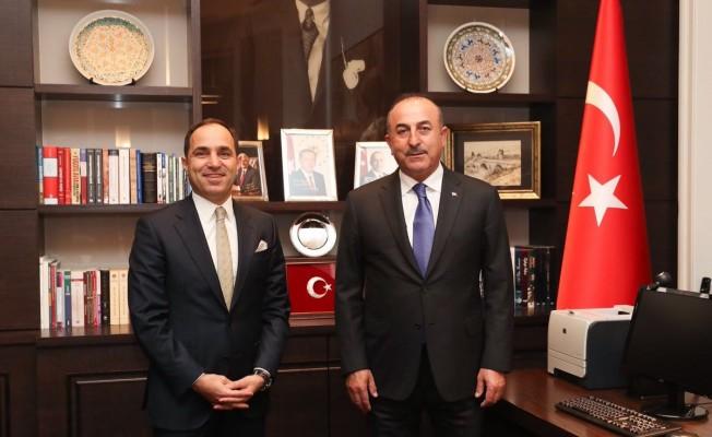 Dışişleri Bakanı Çavuşoğlu, Belgrad Büyükelçiliğini ziyaret etti