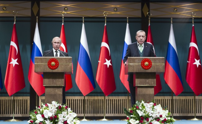 Erdoğan ve Putin ortak basın toplantısı