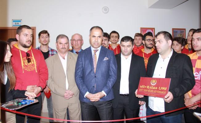 ŞehitEren adına kütüphane açıldı