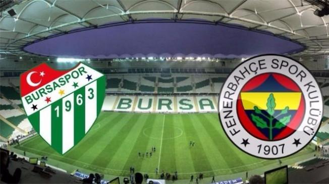 Fenerbahçe maçı öncesi Bursa'da flaş karar!