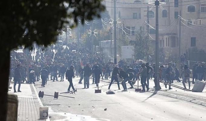 İsrail güçlerinden Filistinli göstericilere müdahale: 108 yaralı