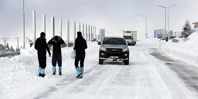 Meteorolojİ'den Bursa'ya buzlanma uyarısı
