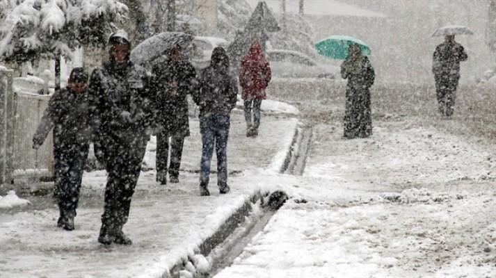 Meteorolojiden 8 ile kar uyarısı