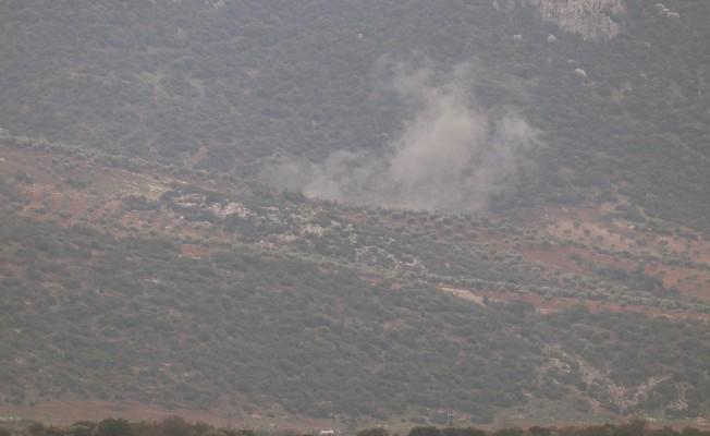 Afrin'deki PKK/PYD hedeflerine 2 top atışı yapıldı