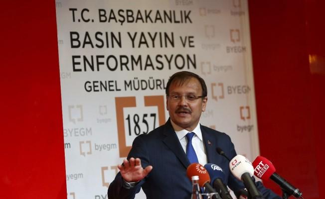 Başbakan Yardımcısı Çavuşoğlu'ndan BYEGM toplantısı