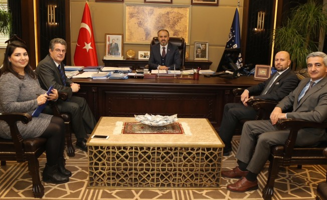 Başkan Aktaş, Bursagaz'ı ağırladı