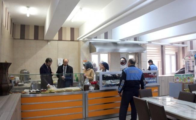 Bursa'nın okul kantinlerine denetleme