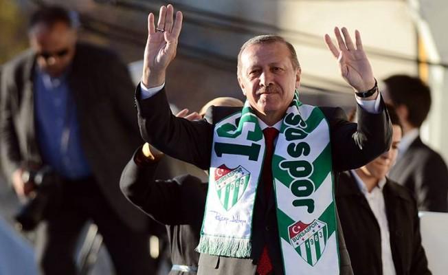 Cumhurbaşkanımız ve Genel Başkanımız Sayın Erdoğan Bursa'ya geliyor