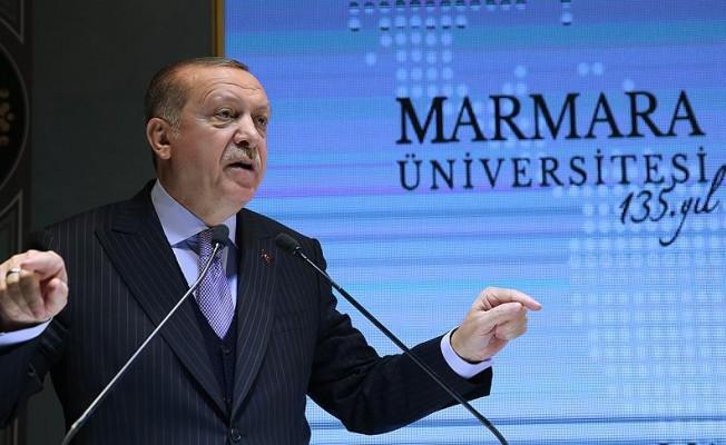 """Erdoğan: """"Artık doktoradan sonra yardımcı doçentlik olmayacak"""""""