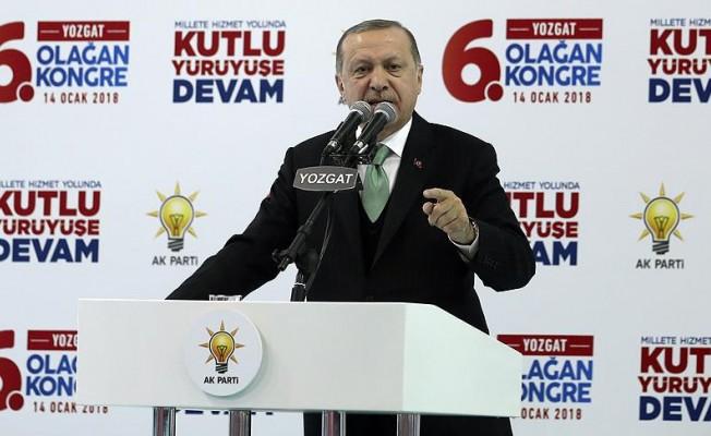 """Erdoğan'dan """"taşeron"""" açıklaması"""