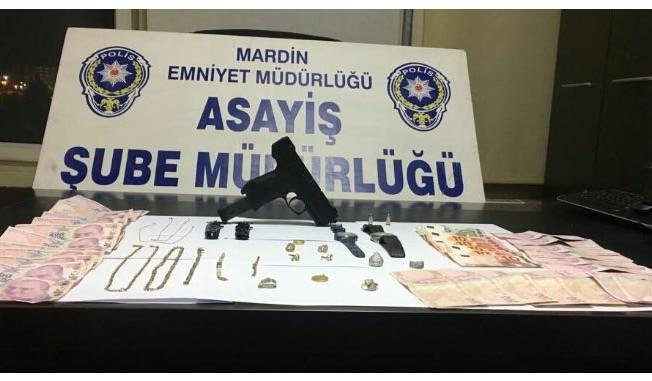 Mardin'de hırsızlık