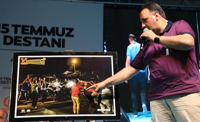 """15 Temmuz gazisi Tatlıdede: """"Biz Türk milletiyiz darbeye asla müsaade etmeyiz"""""""