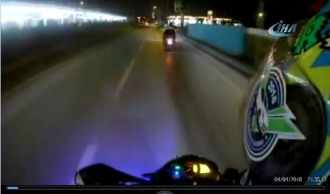 Bursa'da zincirleme motosiklet kazası! Yaralılar var