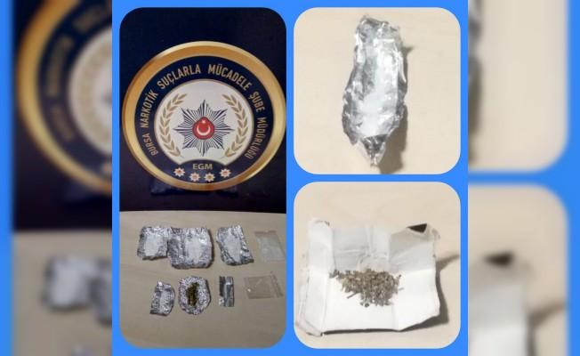 Bursa'da uyuşturucu operasyonu: 6 gözaltı