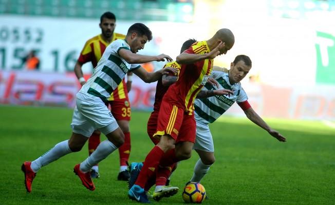 Bursaspor: 0 - Evkur Yeni Malatyaspor: 0