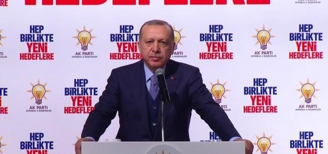 """Cumhurbaşkanı Erdoğan: """"Az önce bir helikopterimiz düşürüldü!"""""""