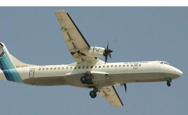 Düşen yolcu uçağının enkazına ulaşıldı
