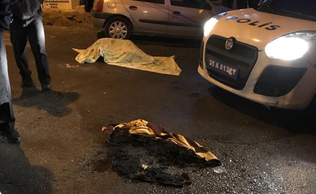 Sokak ortasında yanmış kadın cesedi bulundu!