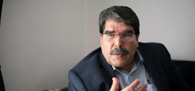 Suriye'den kaçan Salih Müslim Brüksel'de ortaya çıktı