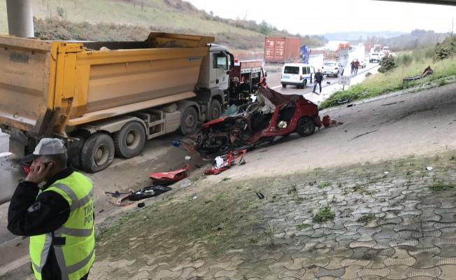 Bursa'da feci kaza! Genç kadın mühendis kaza kurbanı...