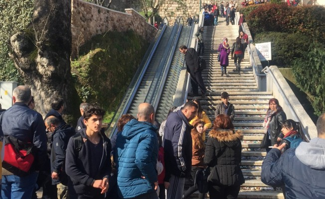 Bursa'da yürüyen merdivende can pazarı! 8 yaralı