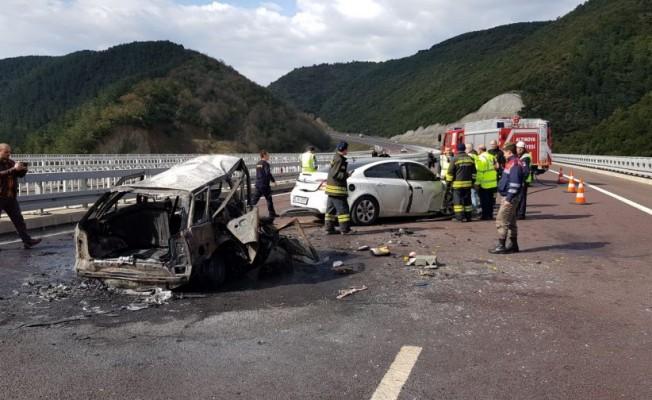 Bursa'yı sarsan feci kaza! Yanarak ölen 2 kişinin...