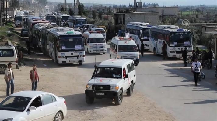 El Kadem'den bin 55 sivil tahliye edildi