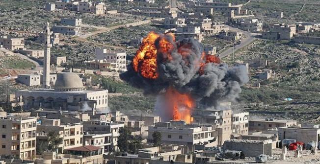 İdlib'e hava saldırısı! Ölü ve yaralılar var