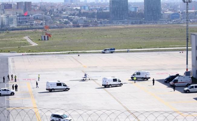 İran'daki jet kazasında ölen 10 kişinin cenazesi Türkiye'ye getirildi