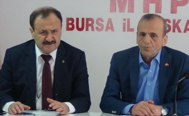 """MHP Bursa İl Başkanı Topçu: """"Fay hatları imar planlarına işlenmeli"""""""