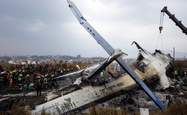 Nepal'de uçak kazasında ölü sayısı 51'e yükseldi
