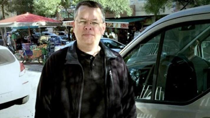 Trump'ın serbest bırakılmasını istediği rahip Brunson'a müebbet istendi