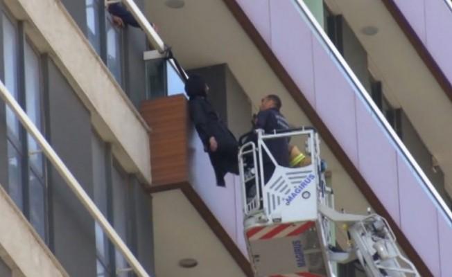 12. kat balkonunda asılı bulunmuştu! Flaş gelişme