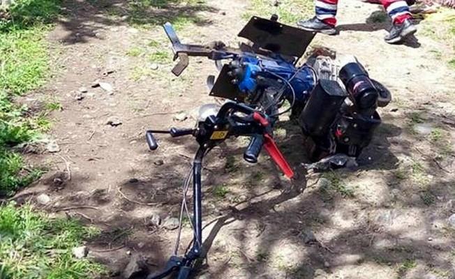 Ayağını çapa makinesine kaptıran çiftçi öldü