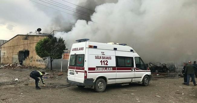 Iğdır'da patlama: Ölü ve yaralılar var