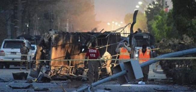 Paskistan'da intihar saldırısı