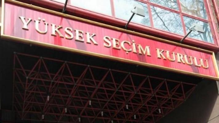 YSK, 24 Haziran seçime katılabilecek partileri açıkladı