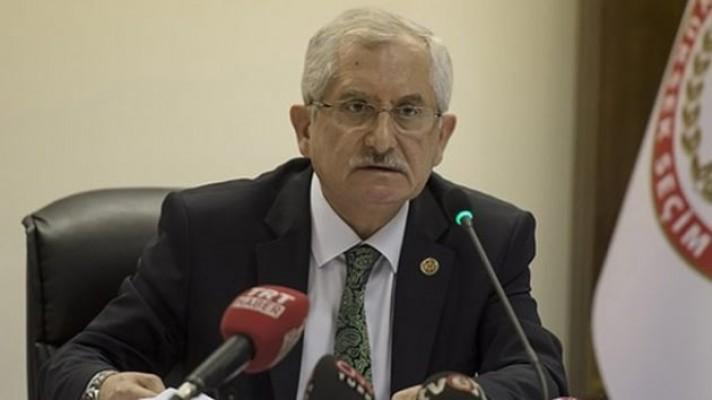 YSK Başkanı Güven'den önemli açıklama