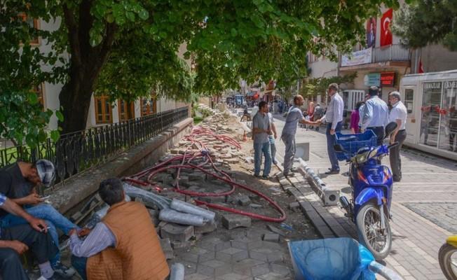 Bursa'da altyapı çalışmaları tam gaz