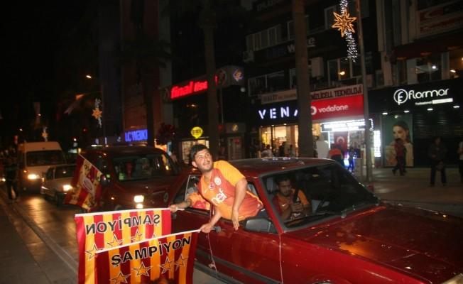 Denizli'de sevincin adı Galatasaray