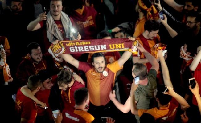 Galatasaray'ın 21. şampiyonluğu Giresun'da coşkuyla kutlandı