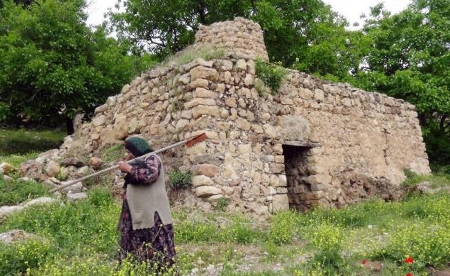 Gercüş'te tarihi değirmenler kaderine terk edildi