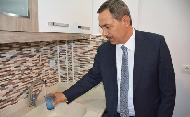 Kdz. Ereğli'de 19 mahalleye arıtılmış su veriliyor
