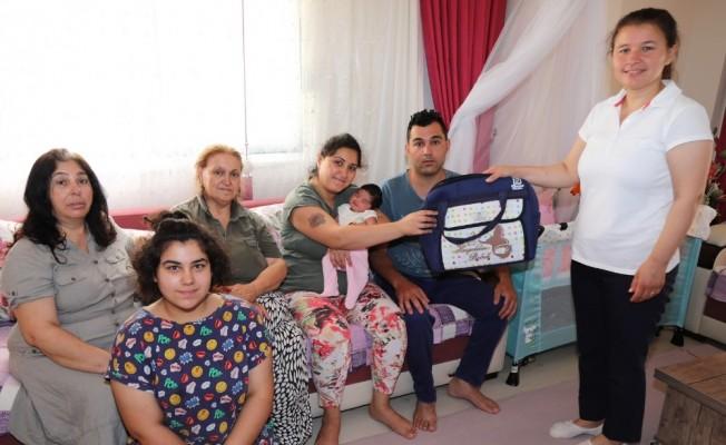 Manavgat Belediyesi 10 bin bebeğe 'hoş geldin' dedi