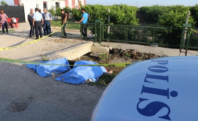 Motosiklet sulama kanalına düştü! 2 ölü