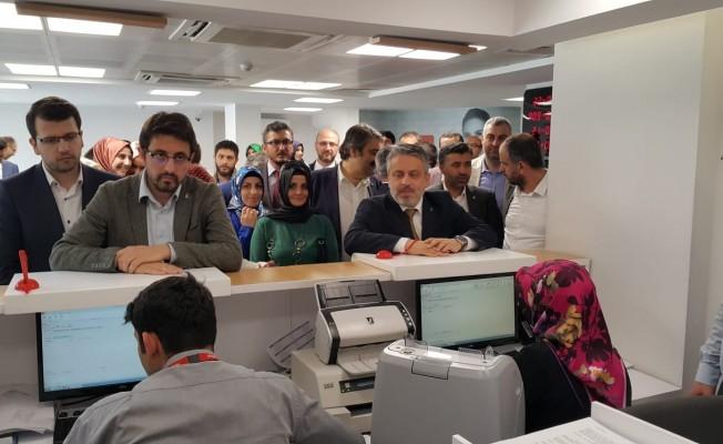 AK Parti Bursa İl Başkanlığından Cumhurbaşkanına destek